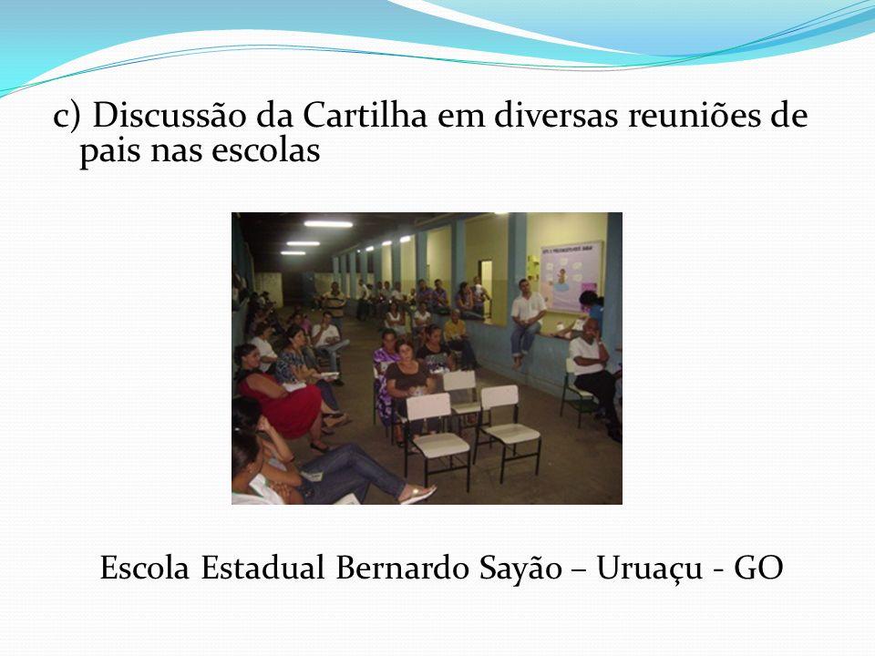 Escola Estadual Bernardo Sayão – Uruaçu - GO