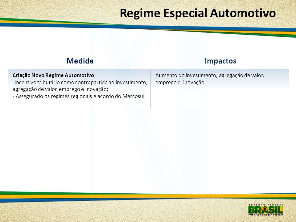 Regime Especial Automotivo