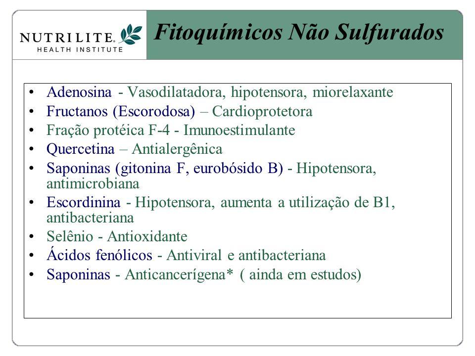 Fitoquímicos Não Sulfurados