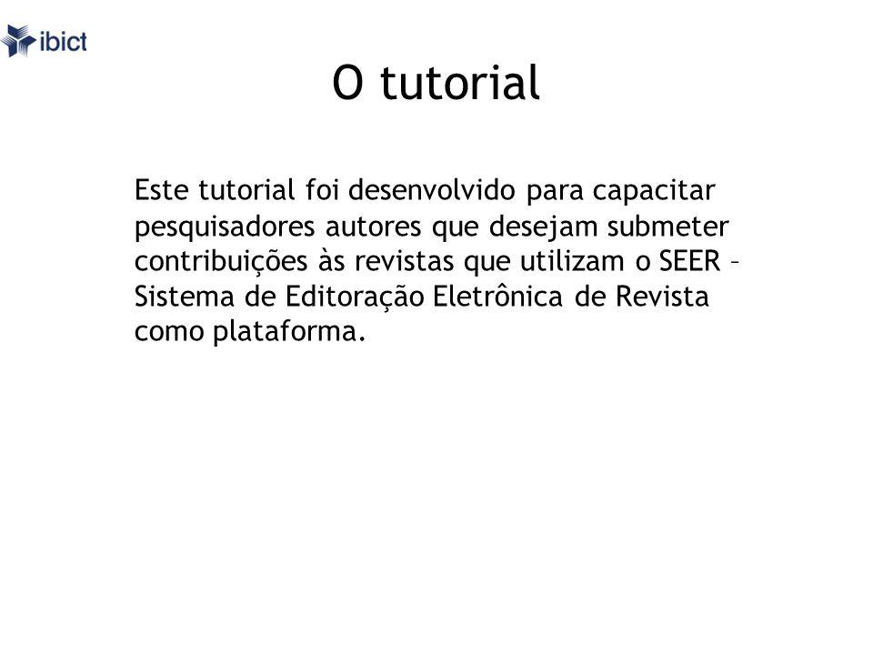 O tutorial