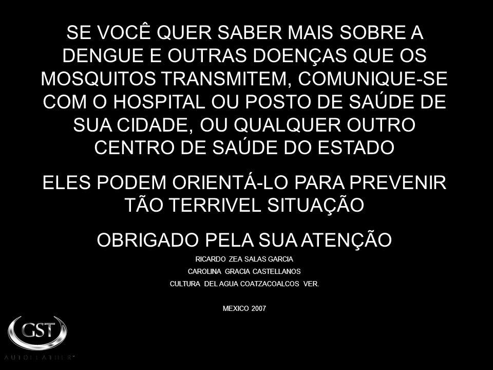 ELES PODEM ORIENTÁ-LO PARA PREVENIR TÃO TERRIVEL SITUAÇÃO