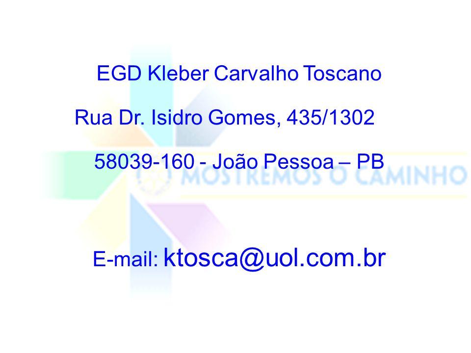 EGD Kleber Carvalho Toscano Rua Dr. Isidro Gomes, 435/1302