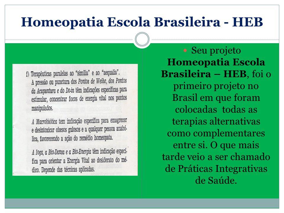 Homeopatia Escola Brasileira - HEB