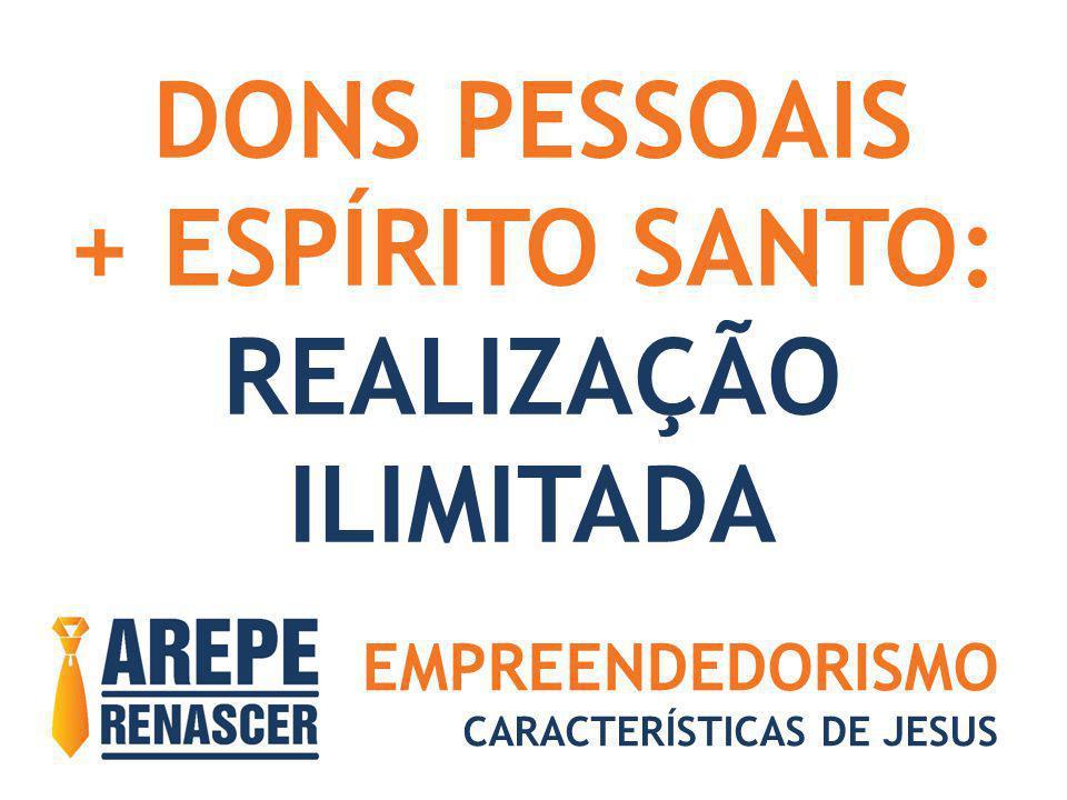 DONS PESSOAIS + ESPÍRITO SANTO: REALIZAÇÃO ILIMITADA