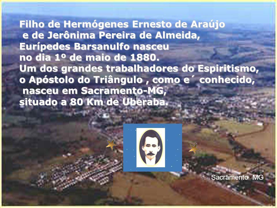 Filho de Hermógenes Ernesto de Araújo