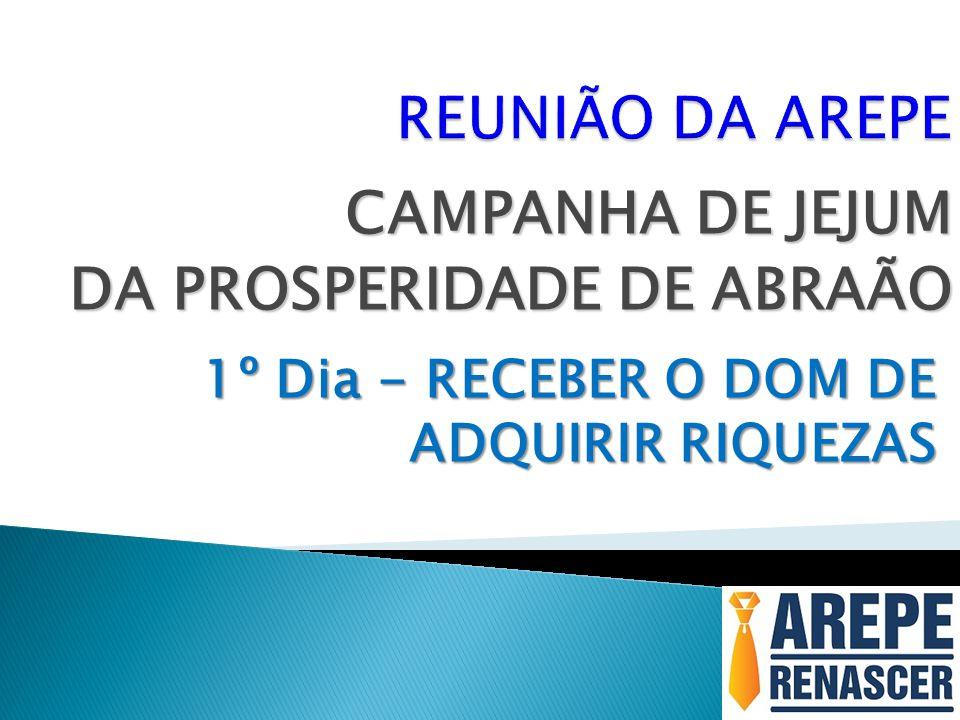 CAMPANHA DE JEJUM DA PROSPERIDADE DE ABRAÃO