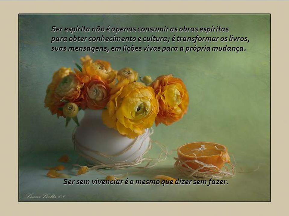 Ser espírita não é apenas consumir as obras espíritas