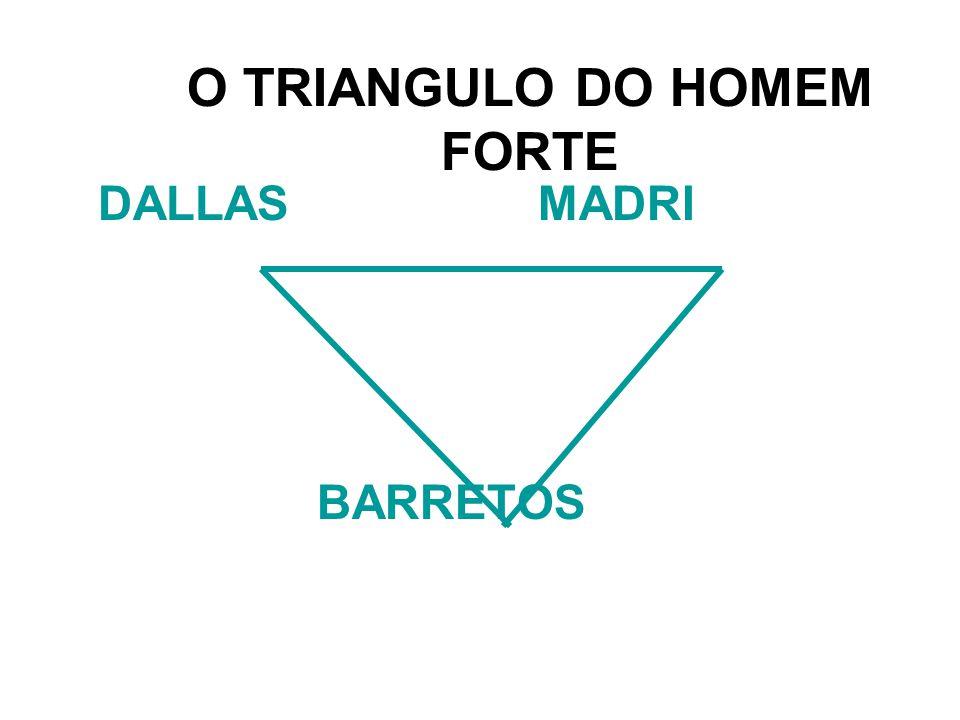 O TRIANGULO DO HOMEM FORTE