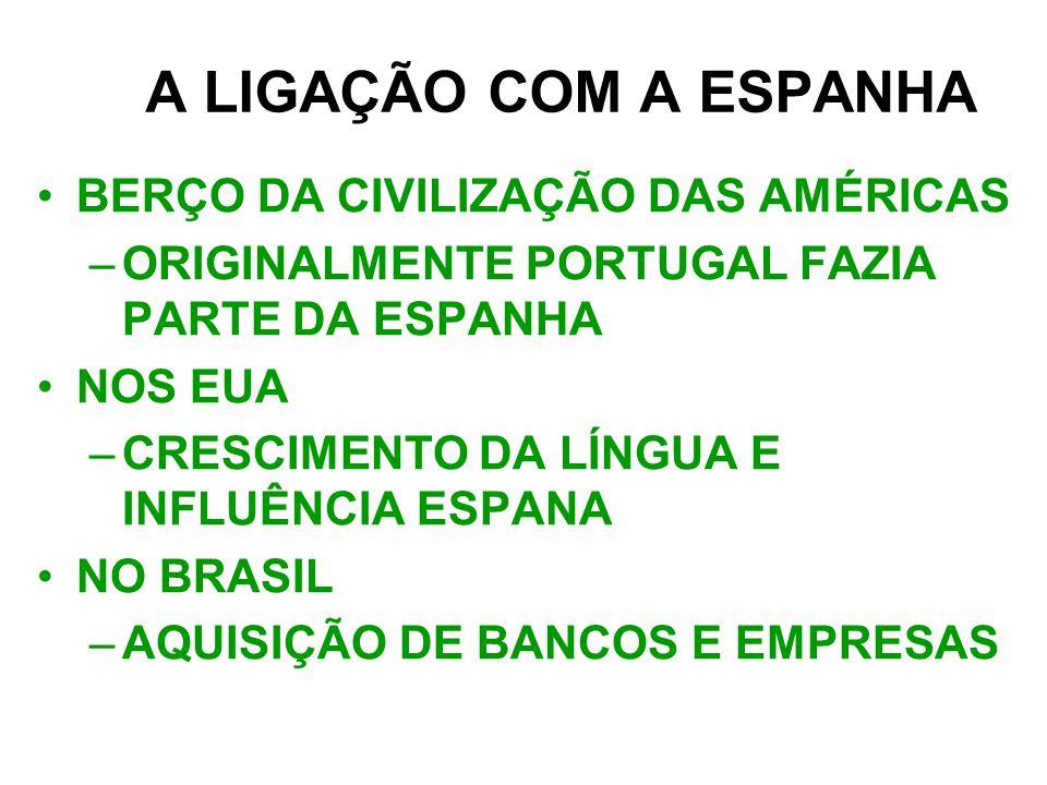 A LIGAÇÃO COM A ESPANHA BERÇO DA CIVILIZAÇÃO DAS AMÉRICAS