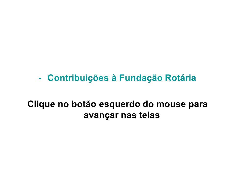 Contribuições à Fundação Rotária
