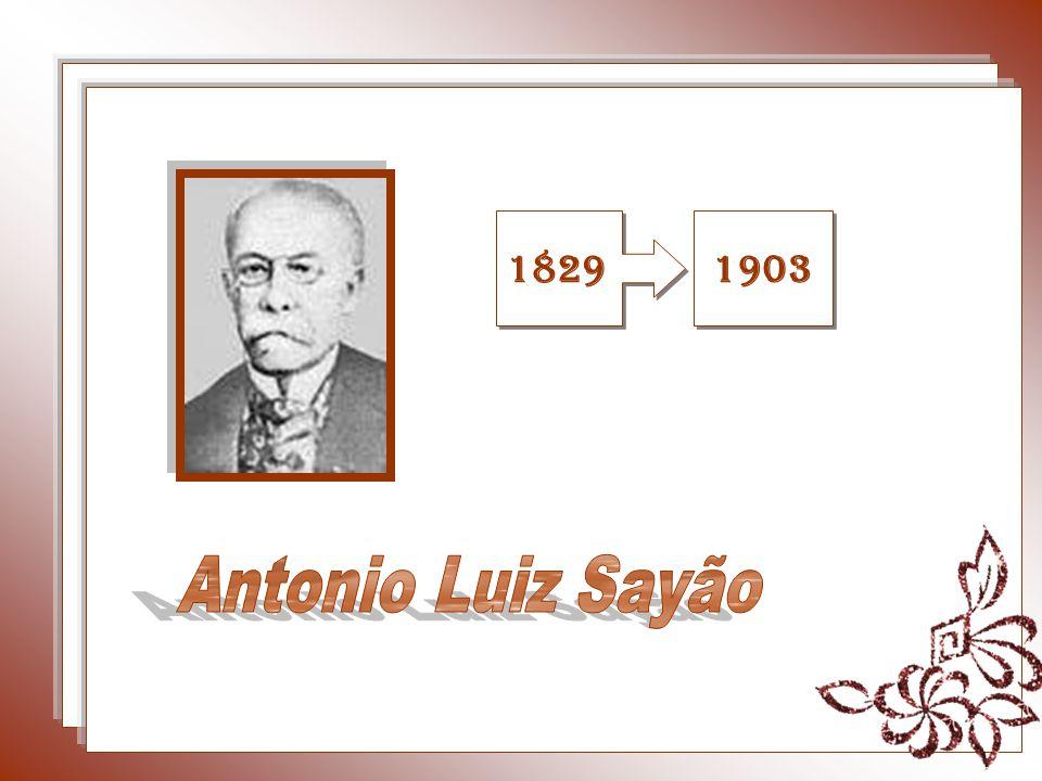 1829 1903 Antonio Luiz Sayão