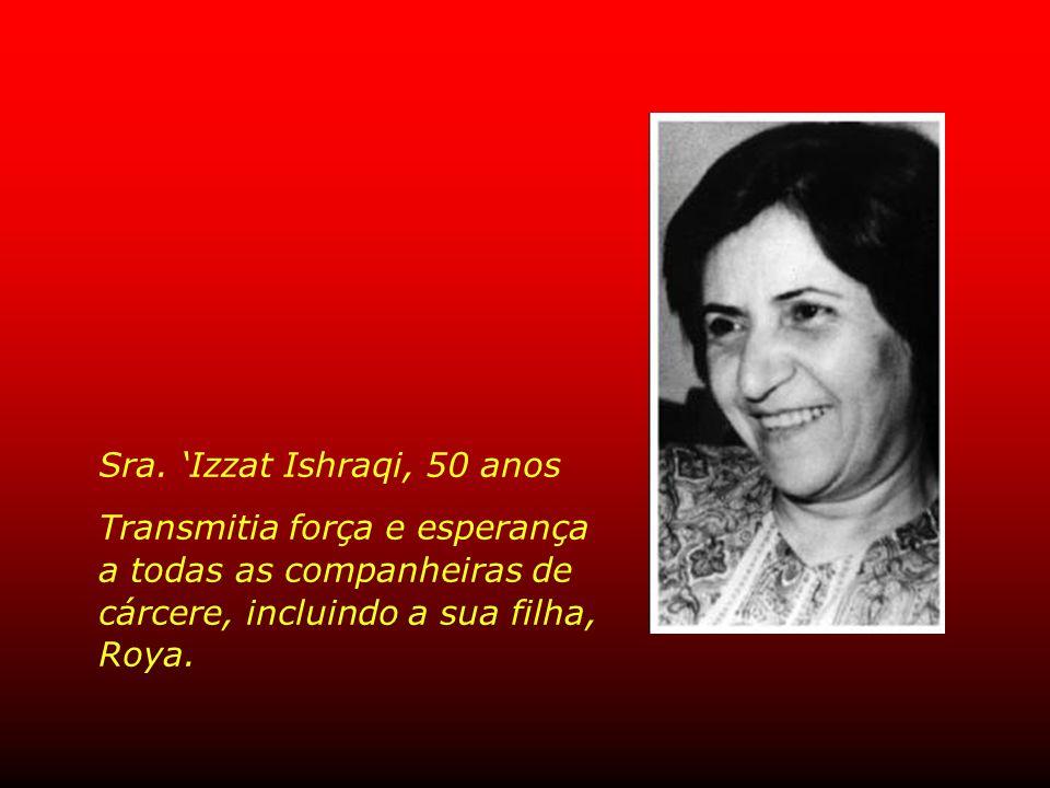 Sra. 'Izzat Ishraqi, 50 anos