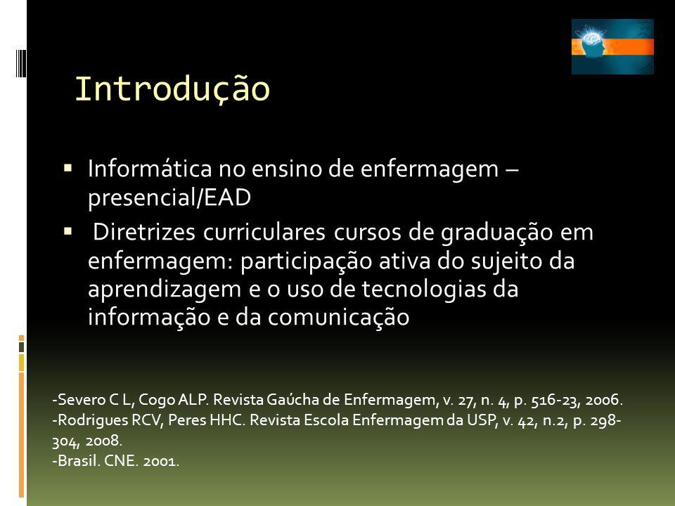 Introdução Informática no ensino de enfermagem – presencial/EAD