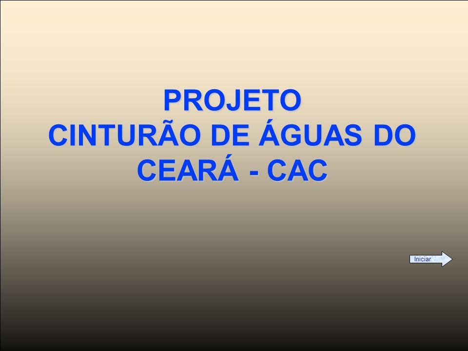 PROJETO CINTURÃO DE ÁGUAS DO CEARÁ - CAC
