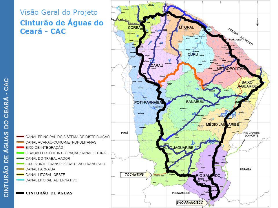 Visão Geral do Projeto Cinturão de Águas do Ceará - CAC