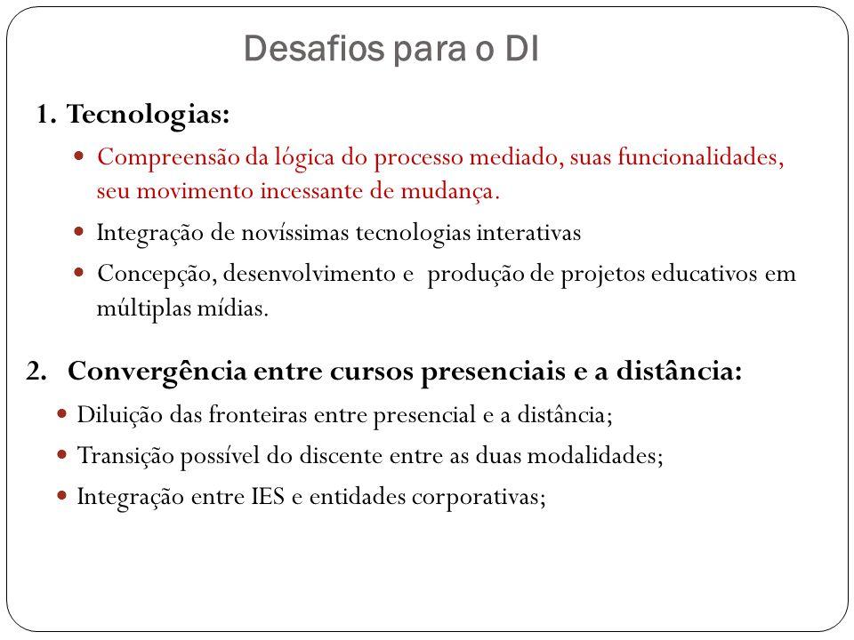 Desafios para o DI 1. Tecnologias: