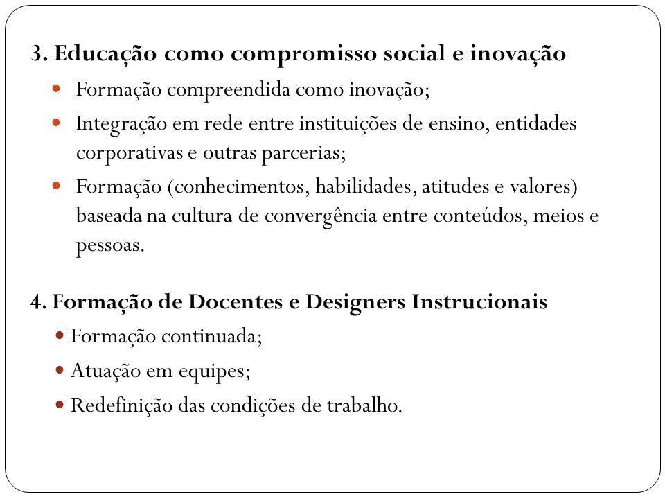 3. Educação como compromisso social e inovação