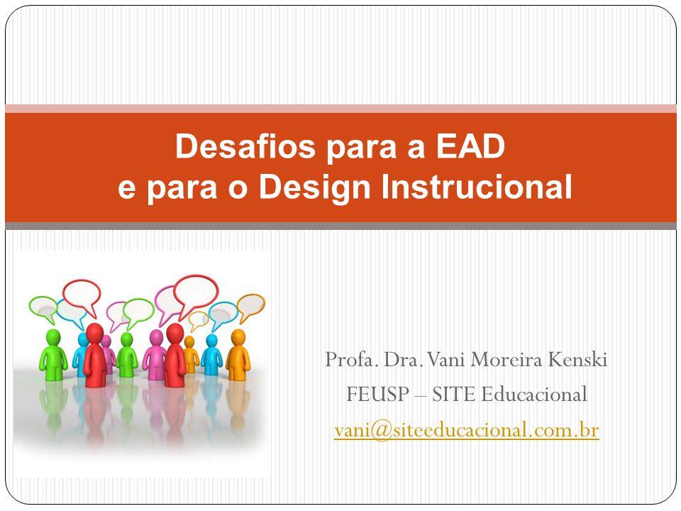 Desafios para a EAD e para o Design Instrucional