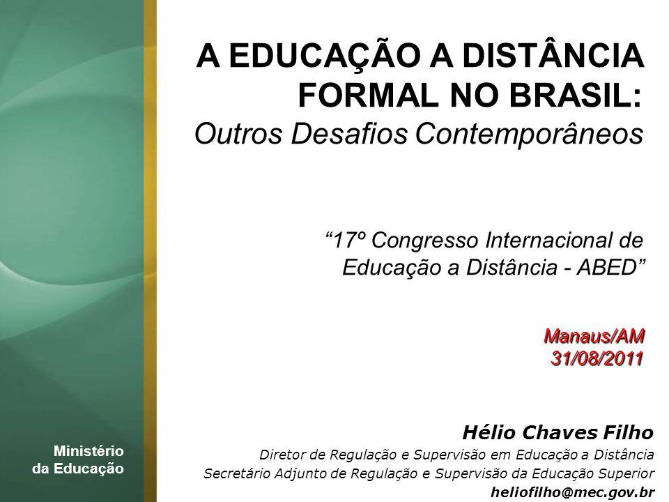 FORMAL NO BRASIL: Outros Desafios Contemporâneos
