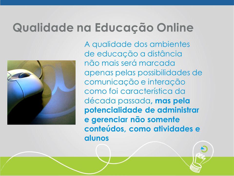 Qualidade na Educação Online