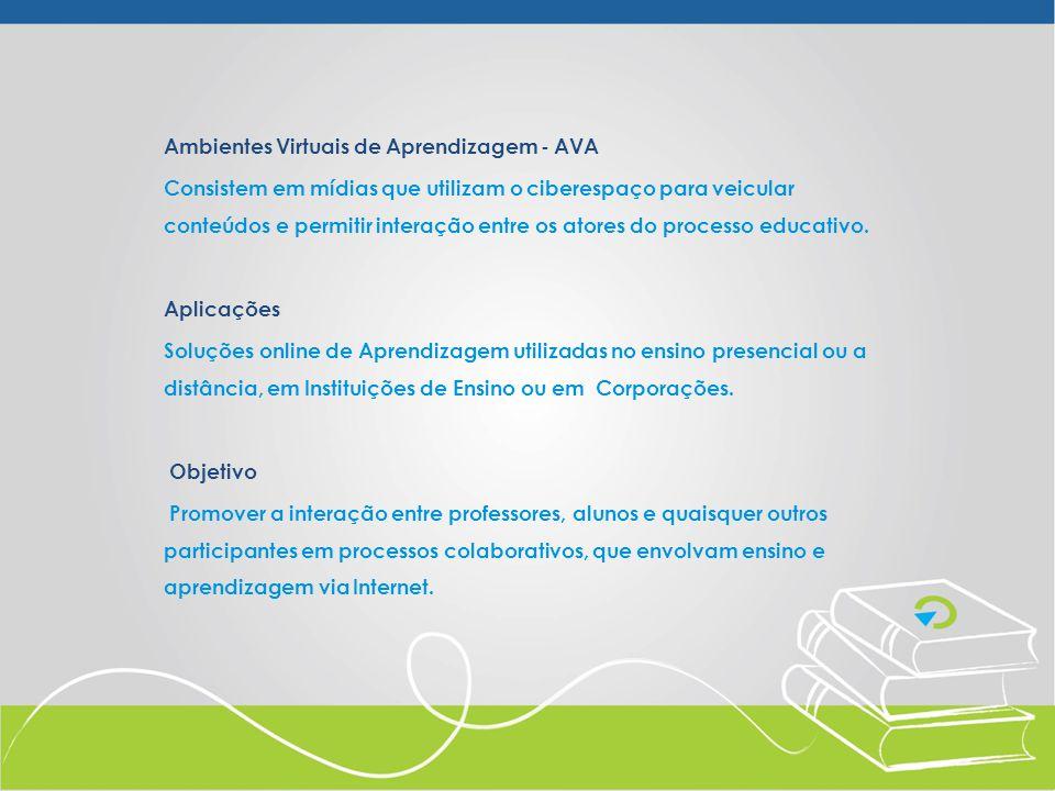 Ambientes Virtuais de Aprendizagem - AVA
