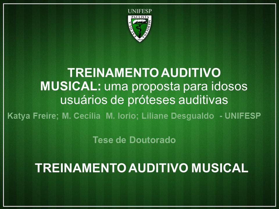 TREINAMENTO AUDITIVO MUSICAL