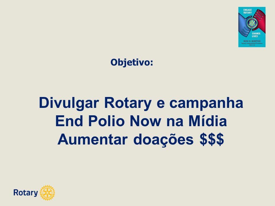 Divulgar Rotary e campanha