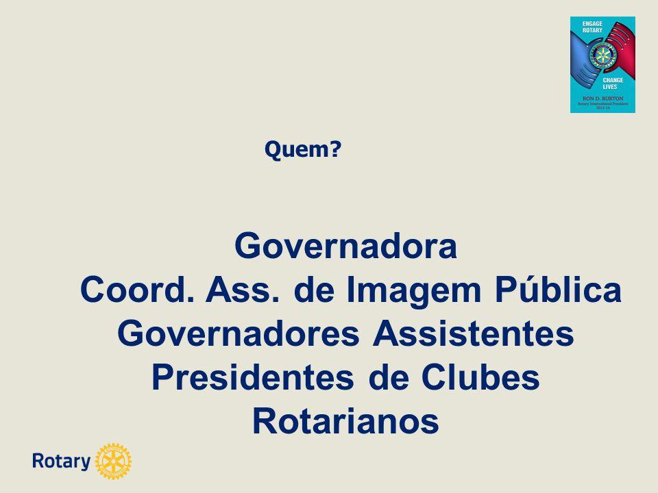 Coord. Ass. de Imagem Pública Governadores Assistentes