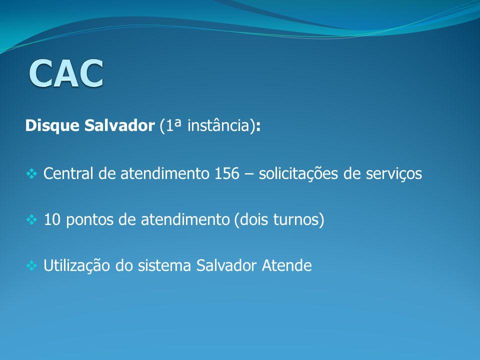 CAC Disque Salvador (1ª instância):