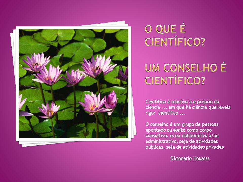 O que é Científico Um conselho é científico