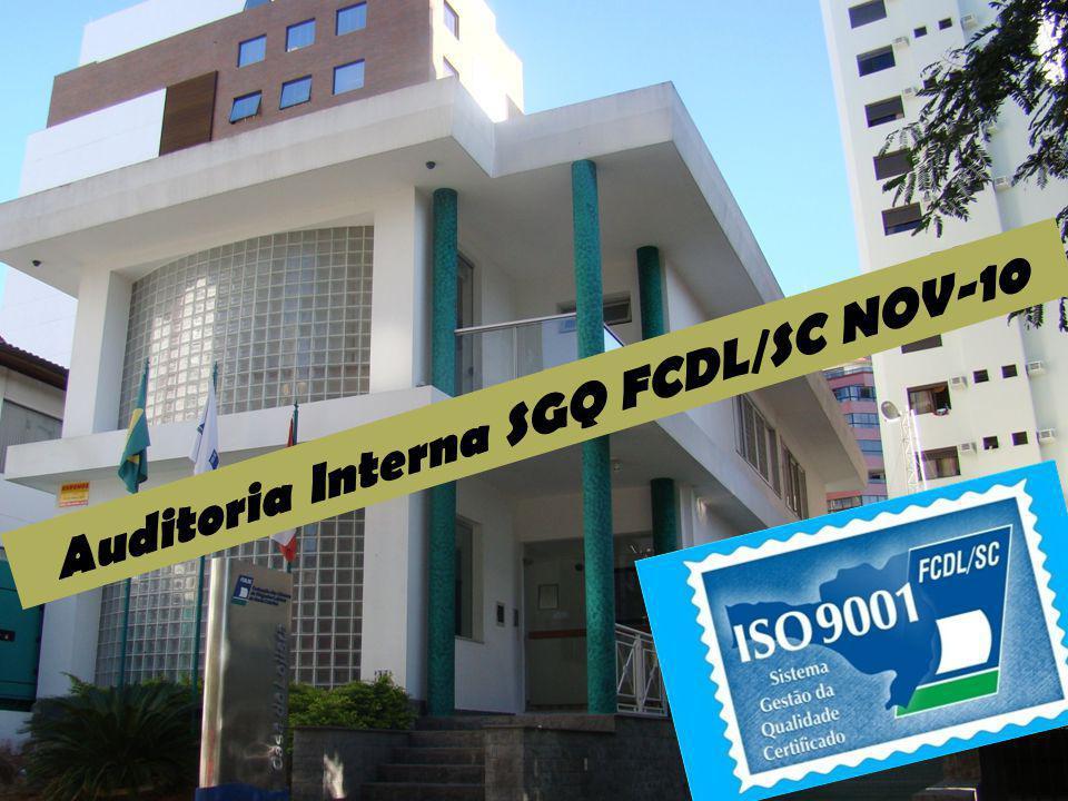 Auditoria Interna SGQ FCDL/SC NOV-10