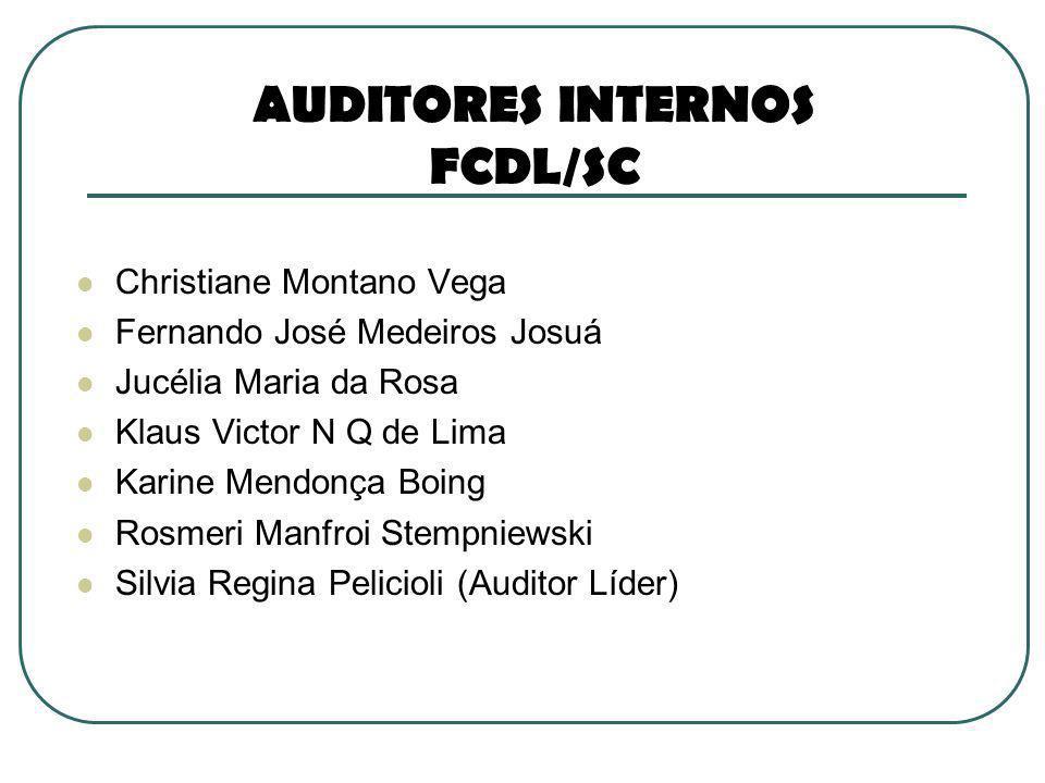 AUDITORES INTERNOS FCDL/SC