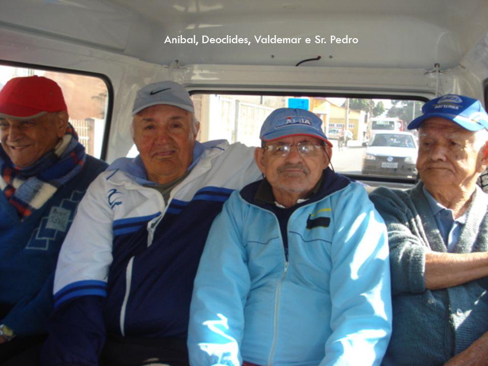 Anibal, Deoclides, Valdemar e Sr. Pedro