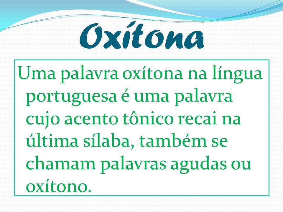 Oxítona