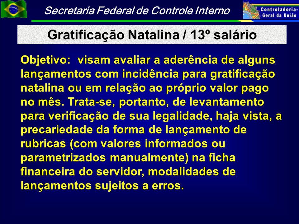 Gratificação Natalina / 13º salário