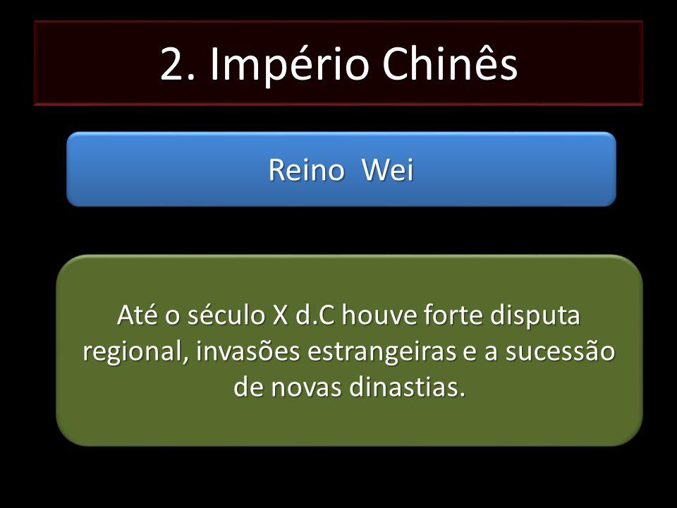 2. Império Chinês Reino Wei