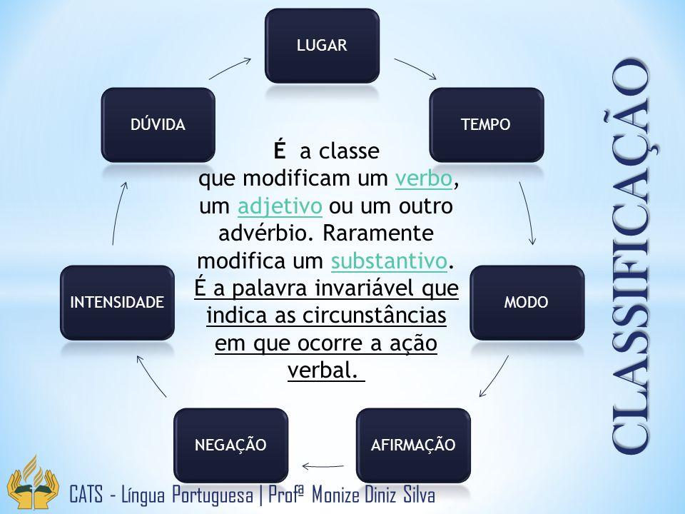 CLASSIFICAÇÃO É a classe