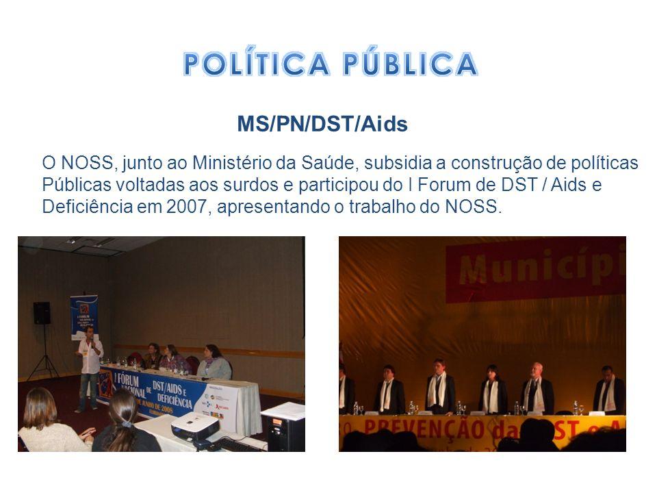 POLÍTICA PÚBLICA MS/PN/DST/Aids