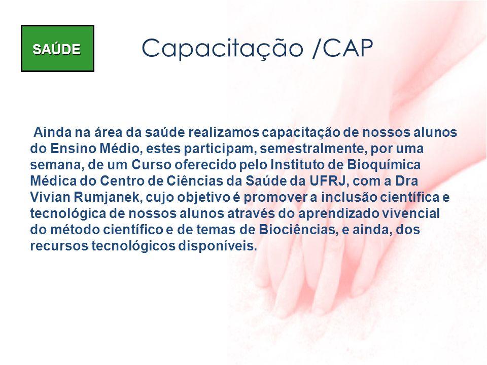Capacitação /CAP SAÚDE