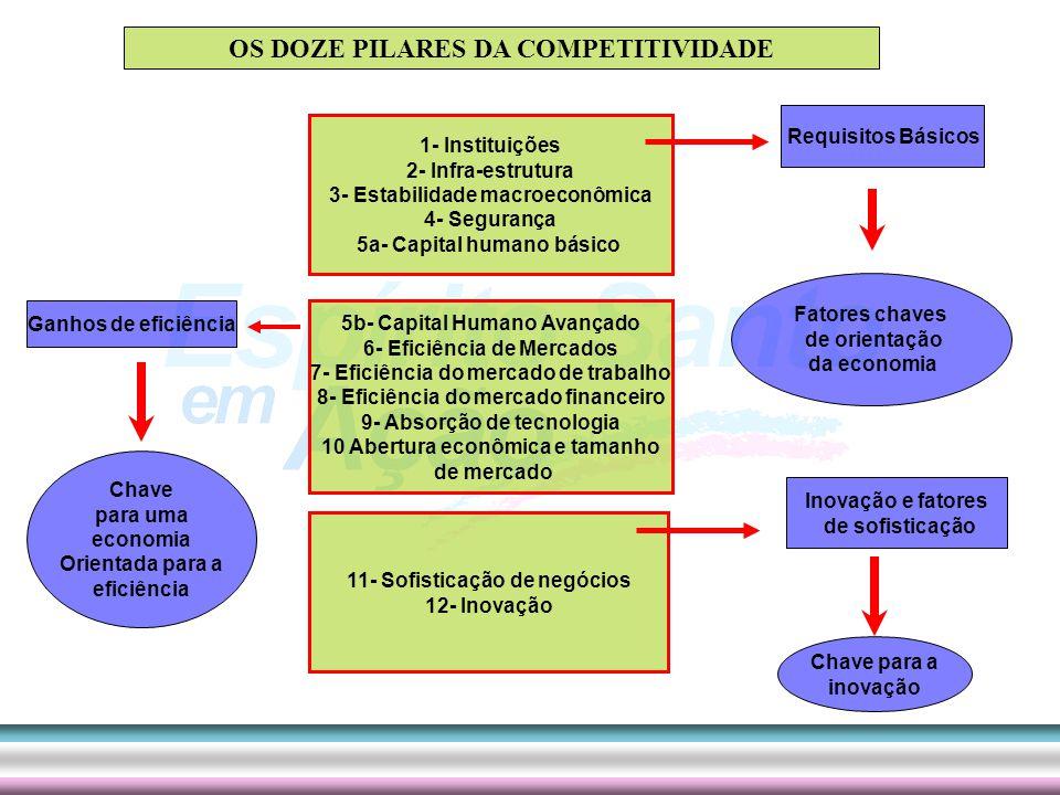 OS DOZE PILARES DA COMPETITIVIDADE