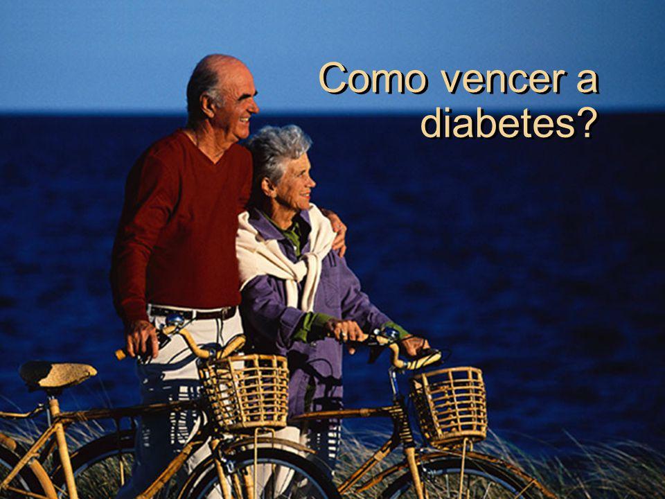 Como vencer a diabetes