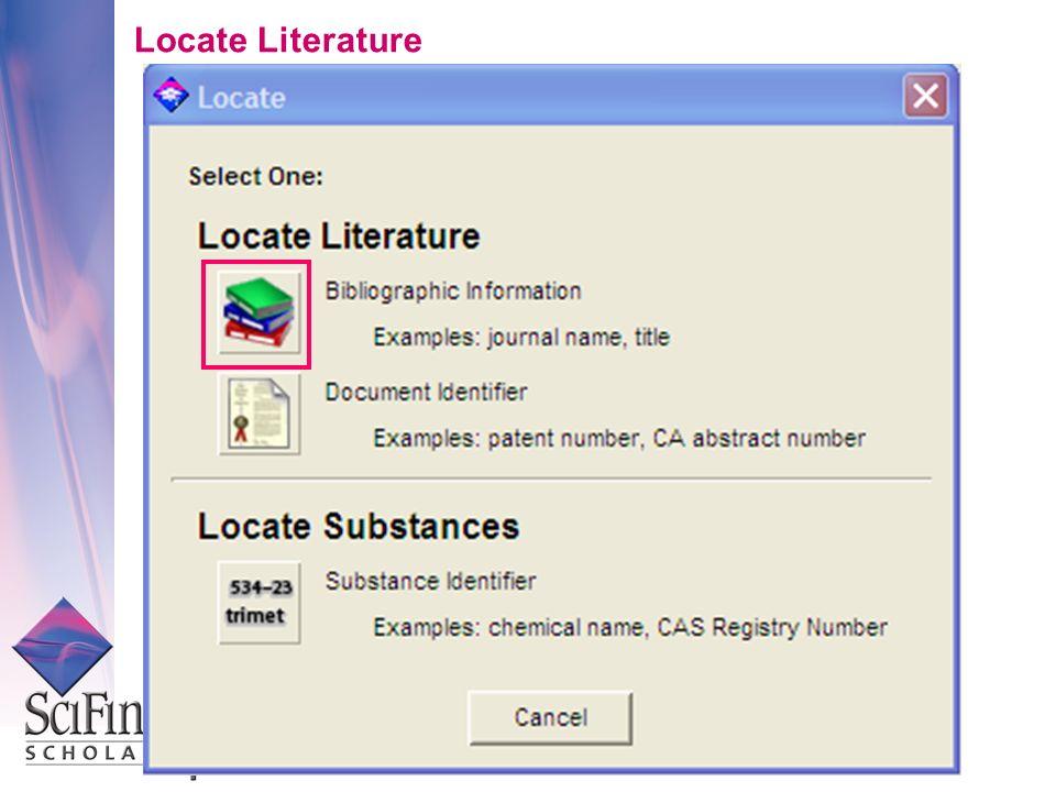 Locate Literature