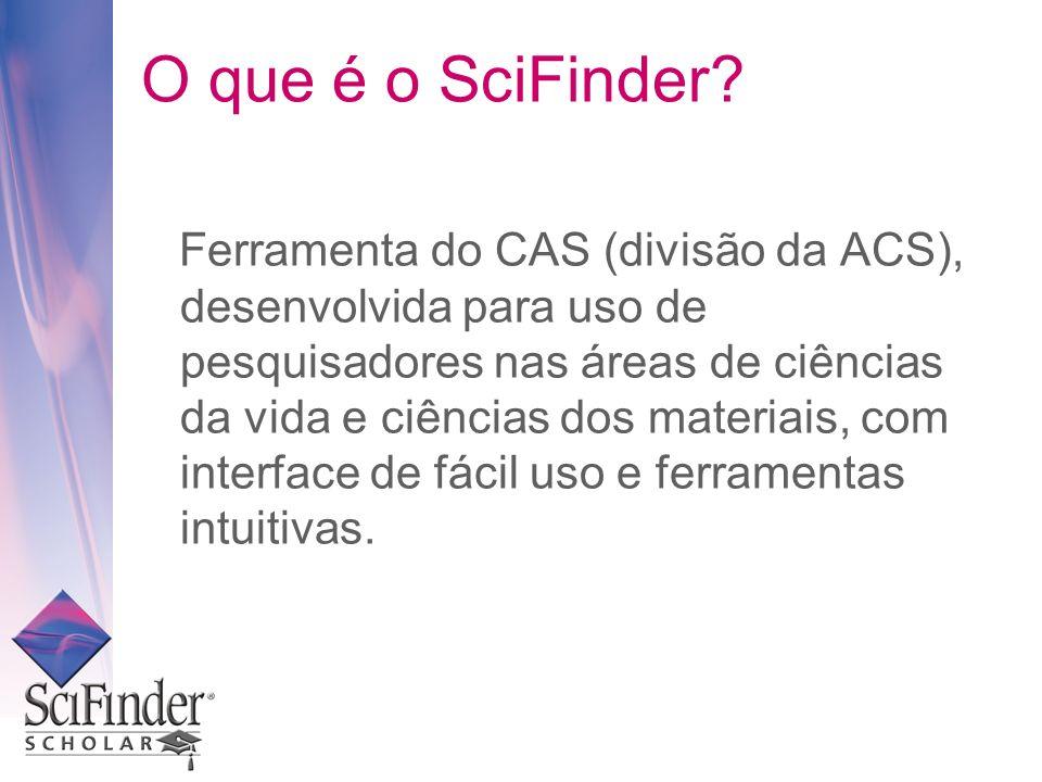 O que é o SciFinder