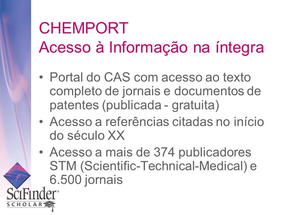 CHEMPORT Acesso à Informação na íntegra
