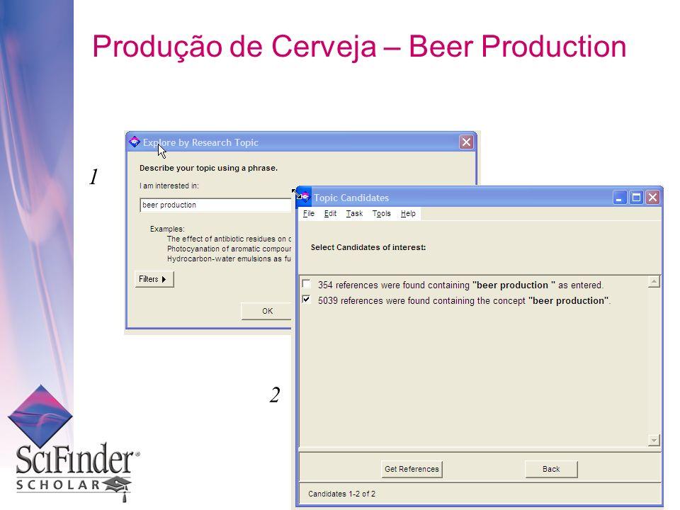 Produção de Cerveja – Beer Production