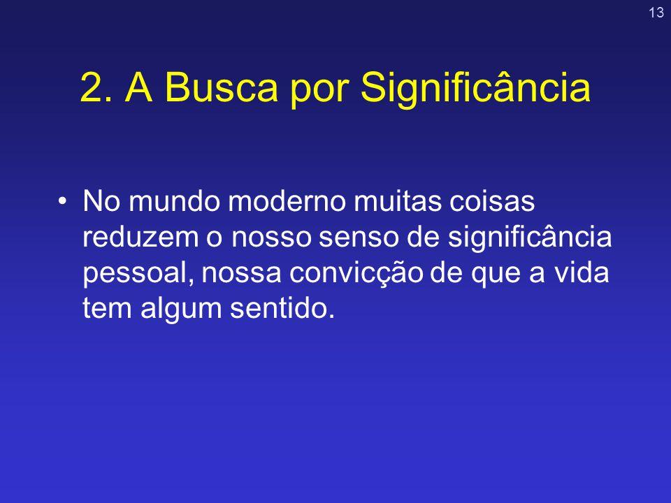 2. A Busca por Significância