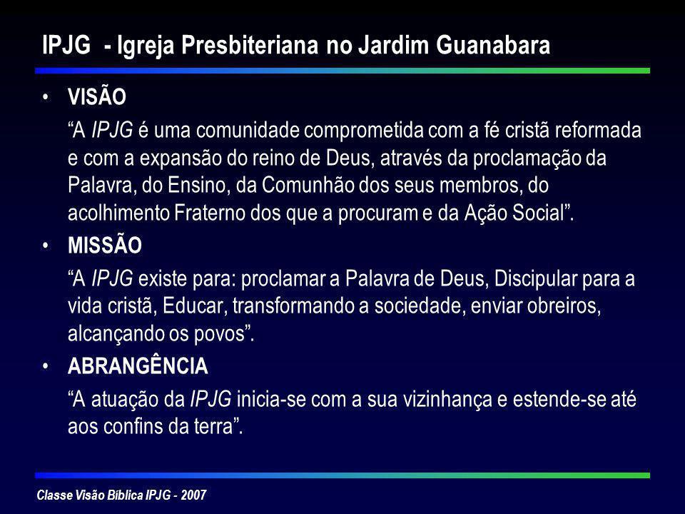 IPJG - Igreja Presbiteriana no Jardim Guanabara