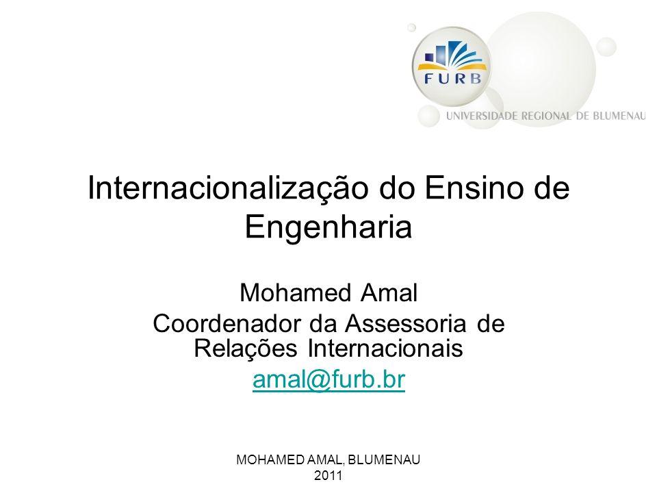 Internacionalização do Ensino de Engenharia
