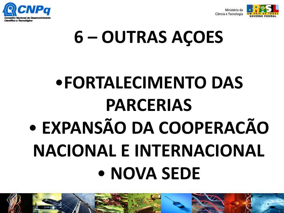 FORTALECIMENTO DAS PARCERIAS