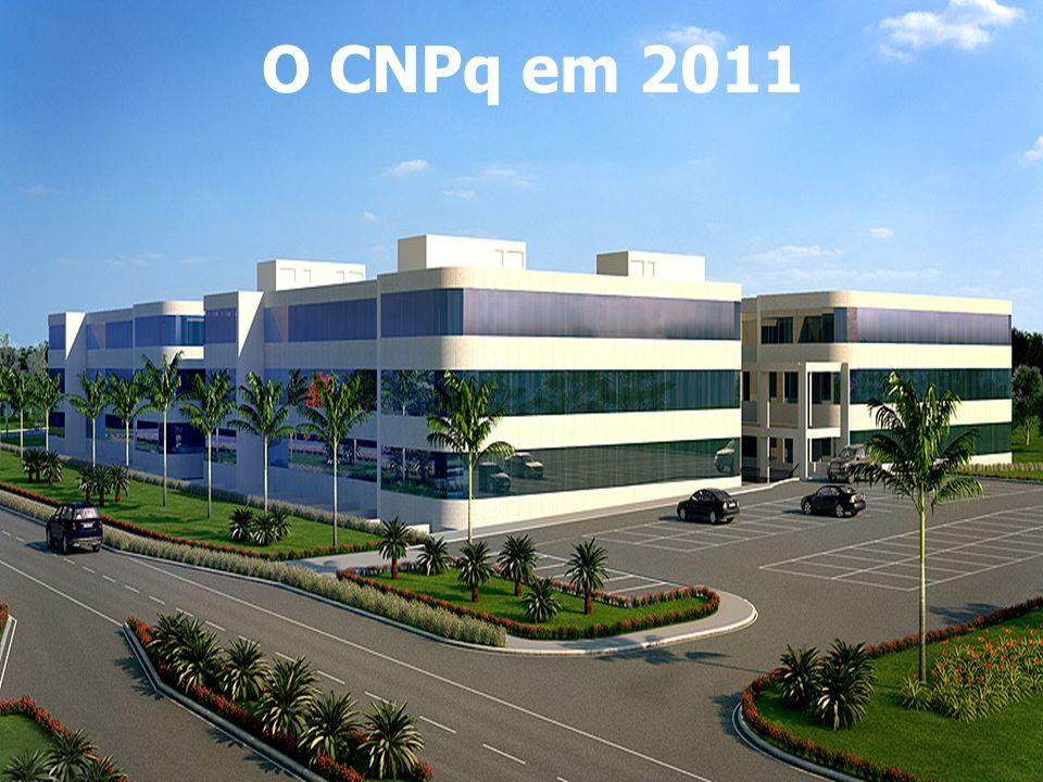 O CNPq em 2011